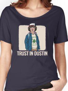 Stranger Things Dustin Women's Relaxed Fit T-Shirt