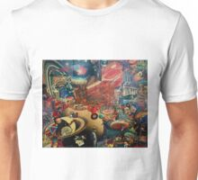 Eyes of Jupiter-Collage Unisex T-Shirt