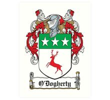 O'Dogherty Coat of Arms (Donegal) Art Print