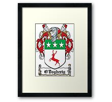 O'Dogherty Coat of Arms (Donegal) Framed Print