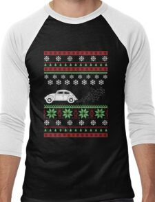 Christmas - Car Ugly Christmas Men's Baseball ¾ T-Shirt