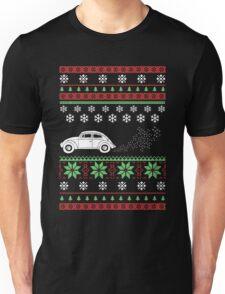 Christmas - Car Ugly Christmas Unisex T-Shirt