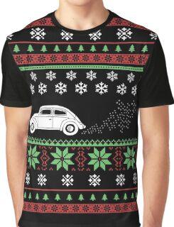 Christmas - Car Ugly Christmas Graphic T-Shirt