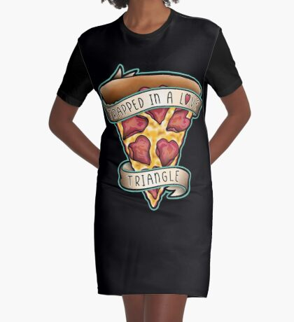 Trapped Graphic T-Shirt Dress