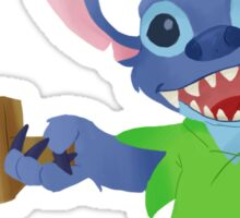 Stitch in Neverland 2 Sticker