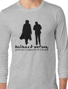 [Sherlock] - Holmes & Watson Long Sleeve T-Shirt