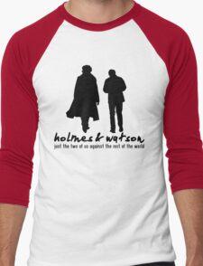 [Sherlock] - Holmes & Watson Men's Baseball ¾ T-Shirt
