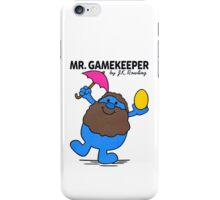 Mr. Gamekeeper iPhone Case/Skin
