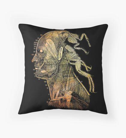war of the flea Throw Pillow