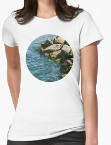 Sea Rocks Womens Fitted T-Shirt