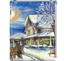 Sleigh Ride in the Country iPad Case/Skin