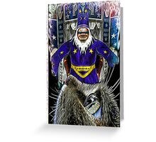 SORCERER'S DREAM Greeting Card