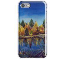 Fall Scene in Michigan iPhone Case/Skin