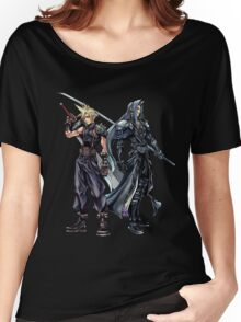 Cloud and Sephiroth Women's Relaxed Fit T-Shirt