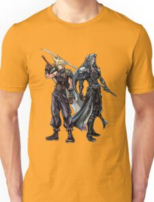 Cloud and Sephiroth Unisex T-Shirt