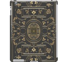 Old Gilded Botanical Book Cover Design iPad Case/Skin