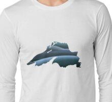 Lake Superior Waves Long Sleeve T-Shirt