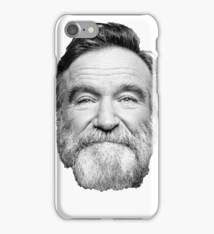 King of Comedy, Robin Williams iPhone Case/Skin
