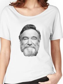King of Comedy, Robin Williams Women's Relaxed Fit T-Shirt