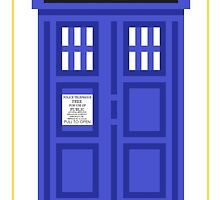 It's a TARDIS! by breadmakesyou-f