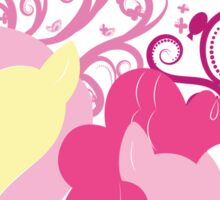 pinkie and fluttershy: laughter and kindness Sticker