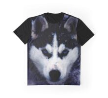 Siberian Dog Husky Graphic T-Shirt