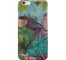 The Grape Lady iPhone Case/Skin