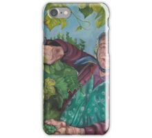 The Grape Lady iPhone Case/Skin
