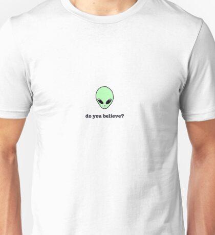 X Files // do you believe? Unisex T-Shirt