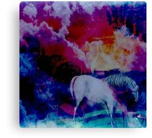 The Wind Blows Canvas Print