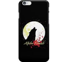 Alpha Female iPhone Case/Skin