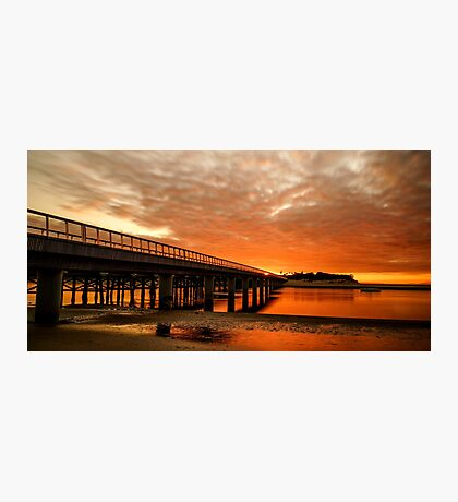 Red Water of the Barwon Photographic Print