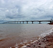 The Confederation Bridge II by Kathleen Daley