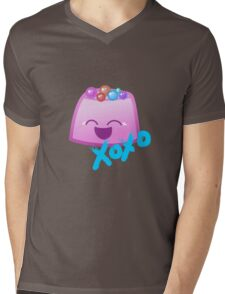 Kawaii Gumdrop Mens V-Neck T-Shirt