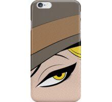 Girls Eyes Halftone iPhone Case/Skin