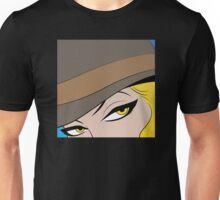 Girls Eyes Halftone Unisex T-Shirt