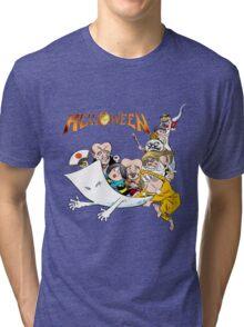 Party_Helloween Tri-blend T-Shirt