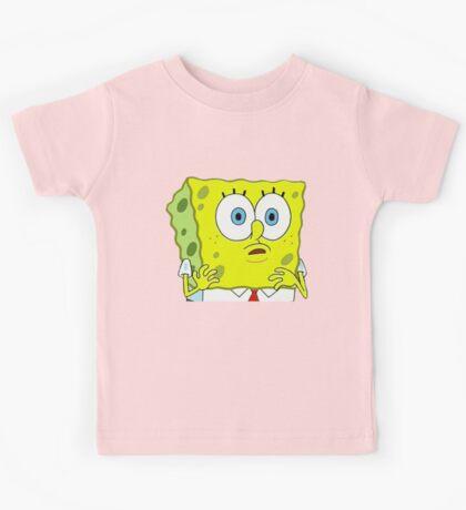 An Astounded Sponge Kids Tee