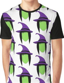 Witch Halloween Monster Graphic T-Shirt