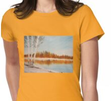 First Snow Womens Fitted T-Shirt