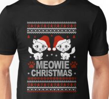 Christmas - Meowie Christmas Sweater Unisex T-Shirt
