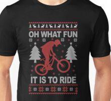 Christmas - Mountain Bike Ugly Christmas Unisex T-Shirt