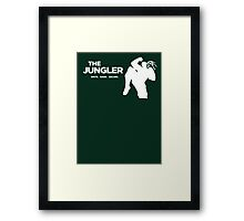 The Jungler Framed Print
