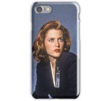 X Files // Scully & Mulder iPhone Case/Skin
