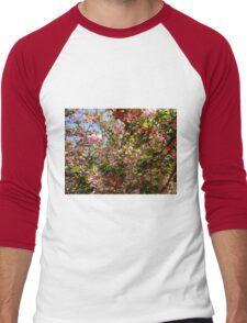 Blossoms Men's Baseball ¾ T-Shirt