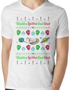 A Wubba Lubba X-mas Mens V-Neck T-Shirt