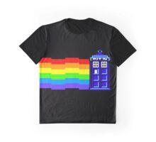 nyan tardis Graphic T-Shirt
