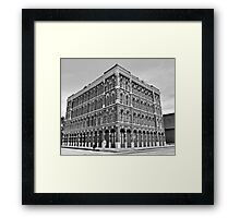 Savings And Loan Framed Print