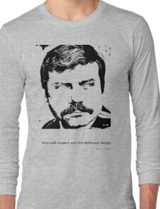 Oliver Reed Awe & Respect Long Sleeve T-Shirt
