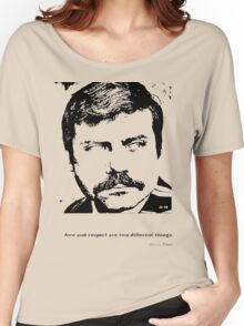 Oliver Reed Awe & Respect Women's Relaxed Fit T-Shirt